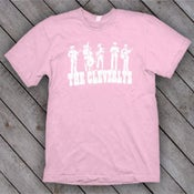 Image of The Cleverlys Powder Pink T Shirt