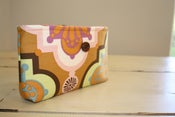 Image of Diaper/Wipes Case in Fall Geometric