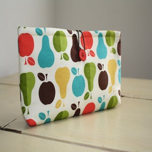 Image of Diaper/Wipes Case in Fall Fruits