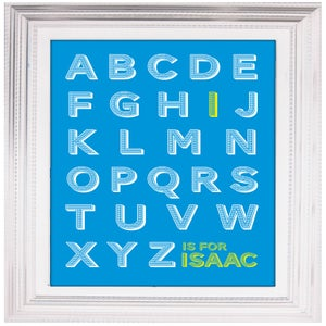 Image of Personalised A is for… print