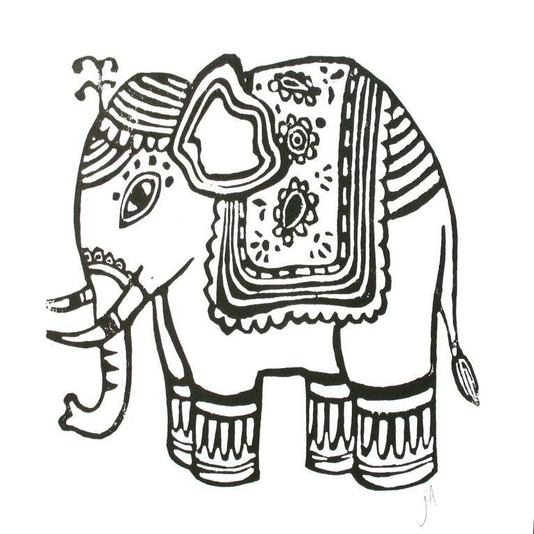 Elephant Drawing Images Image of Ganesha Elephant