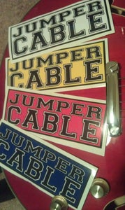 Image of JUMPERCABLE - Sticker