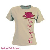Image of Falling Petals LADIES TEE shirt!