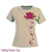 Image of Falling Petals LADIES TEE shirt!