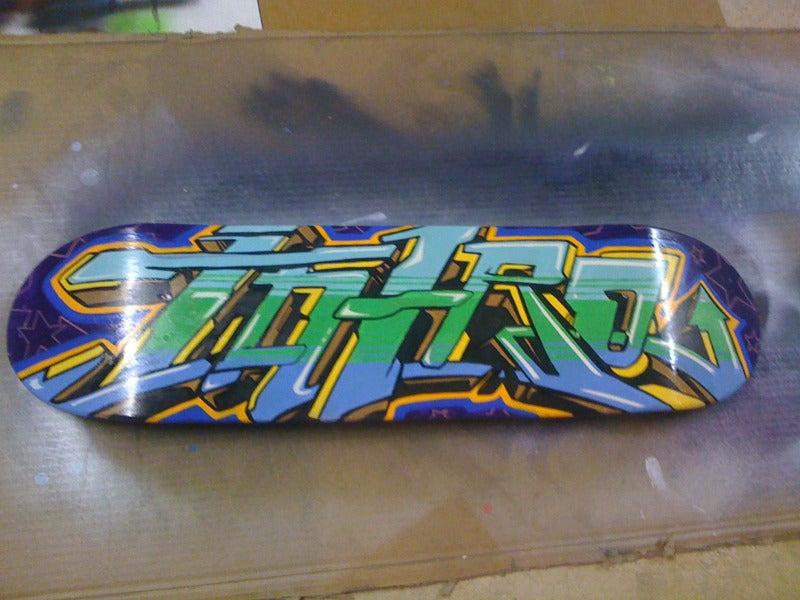 Image of INTRO Graffiti Skateboard