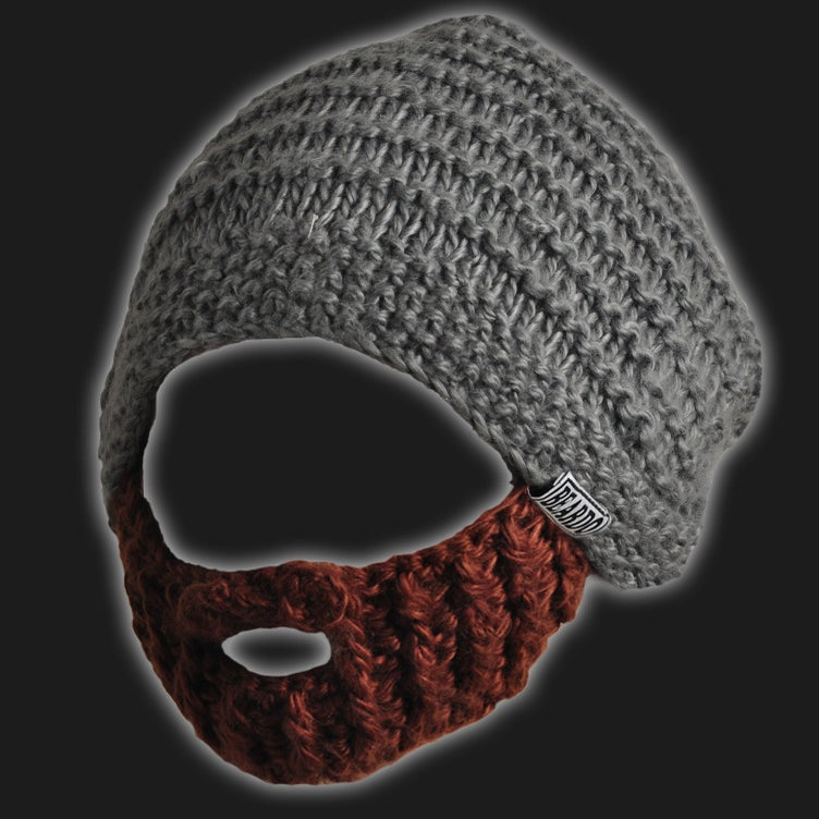 Image of Original Beard Hat (Grey)