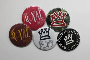 Image of Button Pin Pack (All 5)