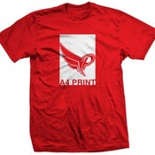 Image of 50 A4 Screen Printed Tees