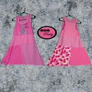 Image of Sock It to Cancer Medium Adult Dress