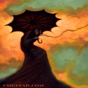 Image of MOURNER II- CANVAS GICLEE