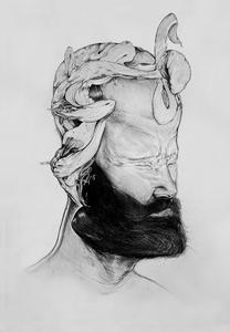 "Image of ""Bodhidharma"" by Jose Mertz"