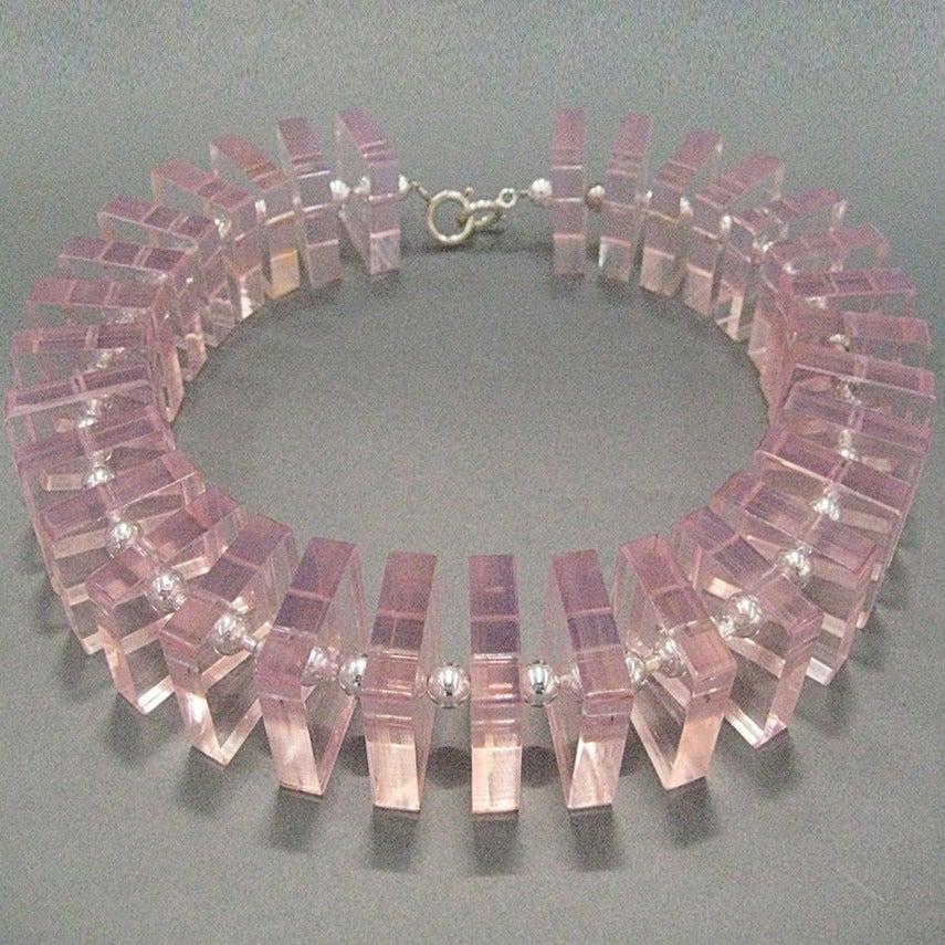 Image of Statement Plexi Square Collar