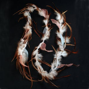 Image of P65 December Morning Feather Scarf