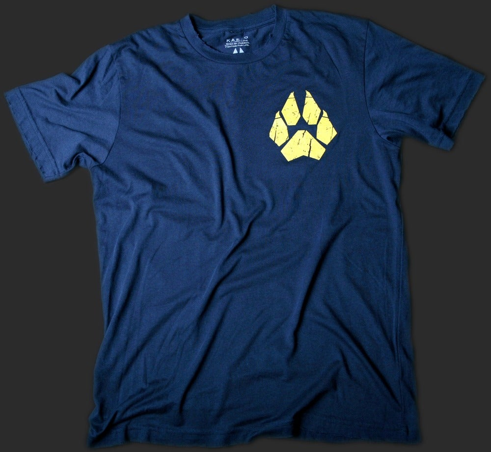 Image of Anti-Abuse Police Men's Vintage Tee - Navy Blue