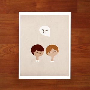Image of Say Yes - 8 x 10 Print