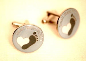 Image of Small Steps Project Cufflinks