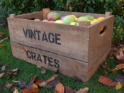 Image of 'Personalised' Vintage Style Apple Crates