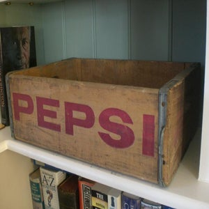 Image of Vintage 'Pepsi' Bottle Crates