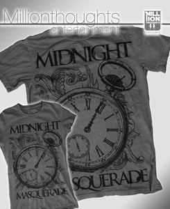 "Image of Midnight Masquerade - ""Clock"" Grey - Girly"