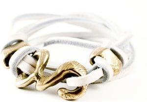 Image of Rawhide wrap bracelet
