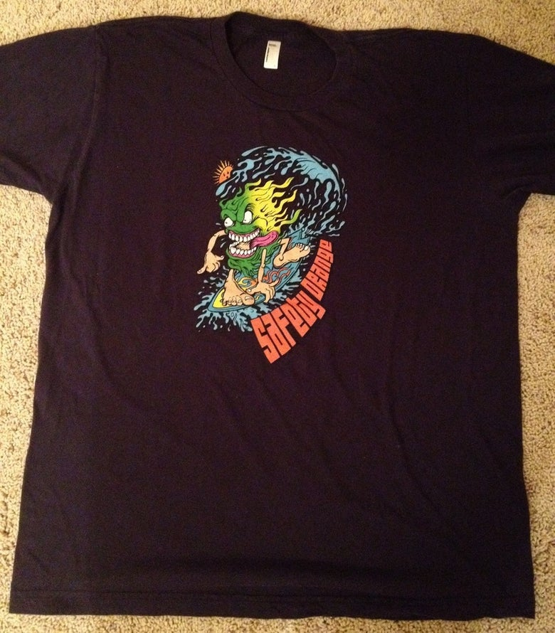 Image of T4 - Surfer Tee - Navy Blue