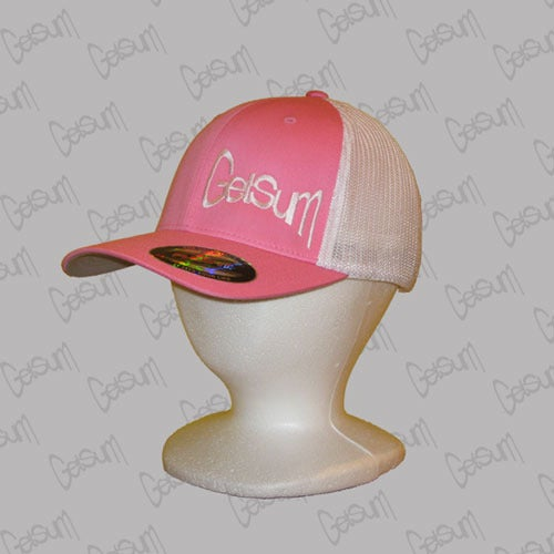 Image of Pink Trucker Mesh