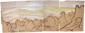 Image of Le Mont Saint-Michel sand view