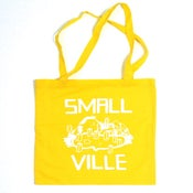Image of Smallville Bag- Logo Print- Yellow