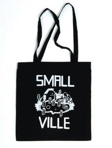 Image of Smallville Bag- Logo Print- Dark Blue