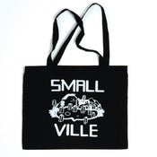 Image of Smallville Bag- Logo Print- Black