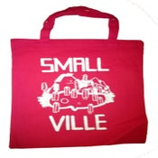Image of Smallville Bag- Logo Print- Pink