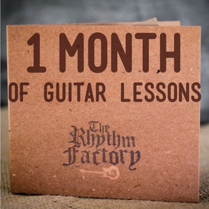 Image of The Basic Beat: Four Weeks of Guitar Lessons
