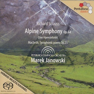 Image of Richard Strauss Alpine Symphony Op.64