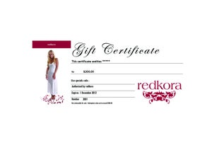 Image of eGift Certificate $200