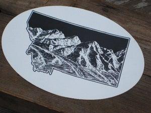 Image of  Sticker: Montana Closer