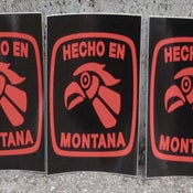 Image of Sticker: Hecho En Montana