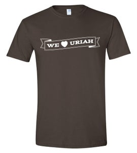 Image of We Love Uriah Tee
