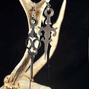 Image of Clock Hand Earrings