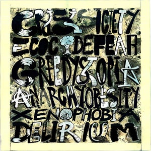 Image of Nownthen 'Premium delirium' print