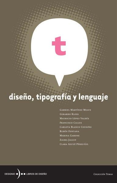 Image of Diseño, tipografía y lenguaje