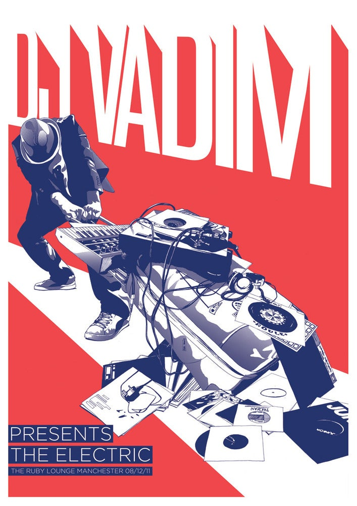 Image of DJ Vadim Presents The Electric