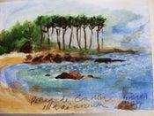 """Image of """"Os luns: apunte do natural"""" Praia de gradín"""