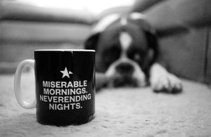 Image of MISERABLE MORNINGS MUG