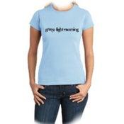 Image of Green Light Morning - Girl T-shirt - Sky Blue