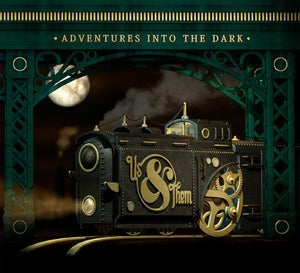"""Image of US & THEM """"ADVENTURES INTO THE DARK"""" CD"""