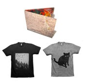 "Image of Lander Bundle (2 Tees & Digipak CD of ""Of Smoke and Fire"")"
