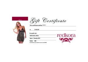 Image of eGift Certificate $100