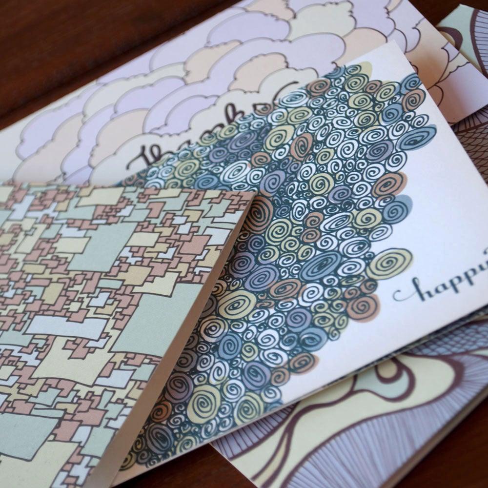 Image of Doodle Card Set