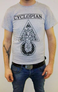 """Image of CYCLOPIAN """"THE HOOVES OF OUROBOROS"""" T-SHIRT"""