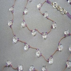 Image of Small Light Purple Quartz Drops